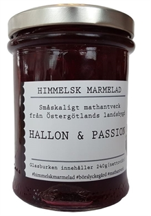 Himmelsk Marmelad Hallon & passion